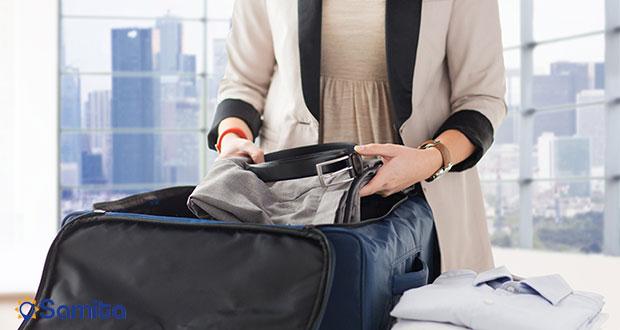 آماده شدن برای سفر