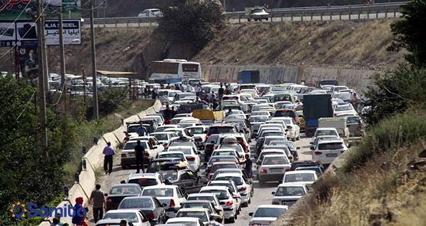ترافیک جاده ها در تابستان