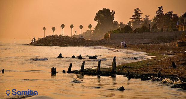 ساحل دریای رامسر