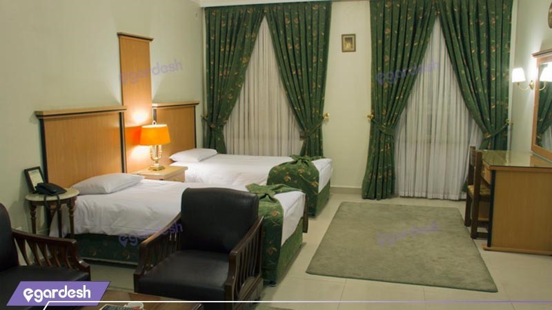 اتاق دو تخته توئین هتل رودکی