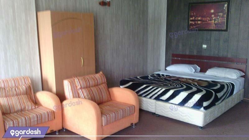 اتاق دبل هتل امیر کبیر آبادان