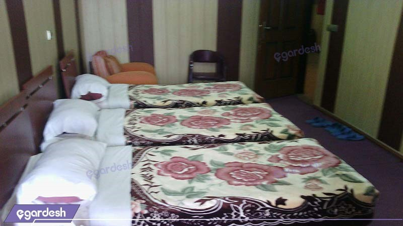 اتاق سه نفره هتل امیر کبیر آبادان