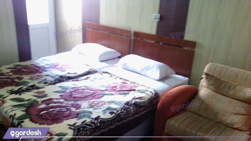 اتاق دو نفره هتل امیر کبیر آبادان