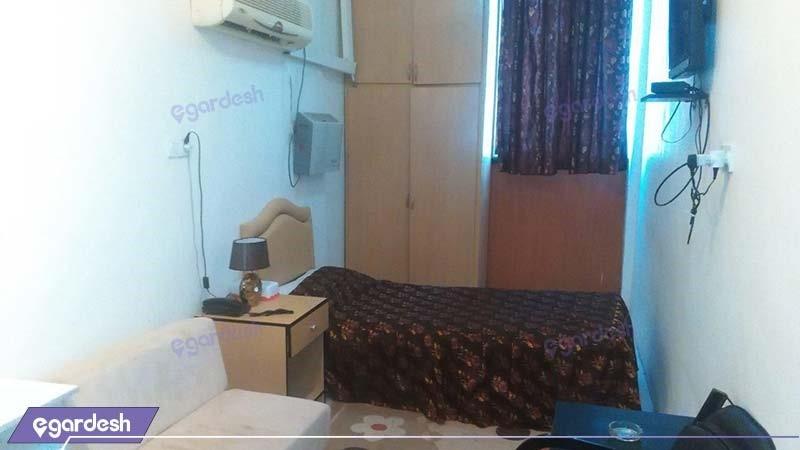 اتاق یکنفره هتل آزادی آبادان