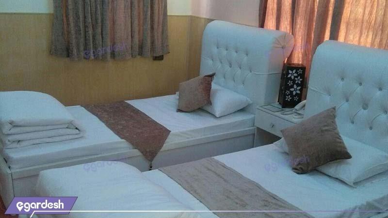 سوئیت دو نفره هتل نخل آبادان