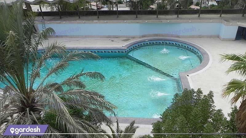 استخر هتل پارسیان آزادی آبادان