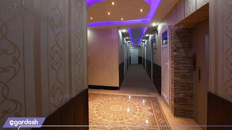 راهرو هتل ایران اهواز