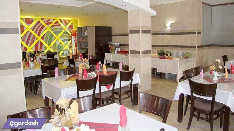 رستوران هتل ایران اهواز