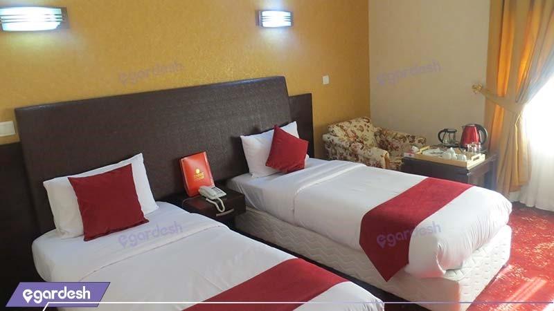 اتاق دو تخته هتل پارس اهواز