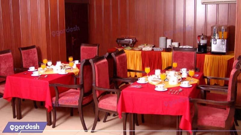 سالن صبحانه خوری هتل پرشیا