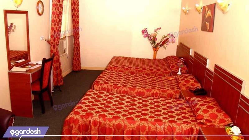 اتاق سه تخته هتل پرشیا