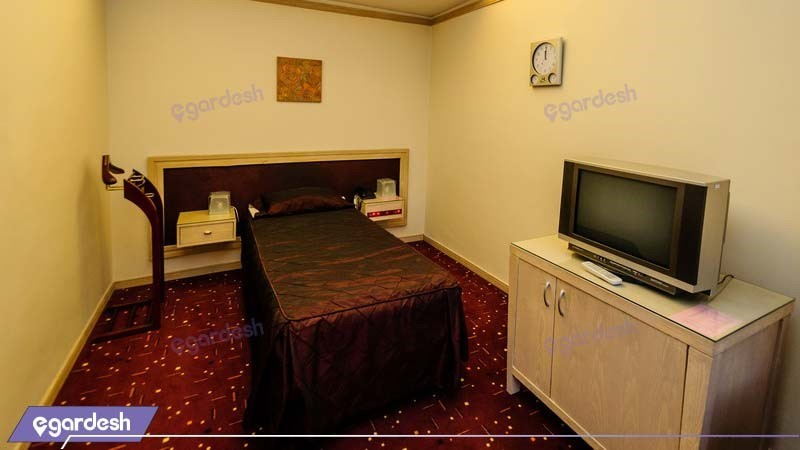 اتاق یکنفره هتل امیر کبیر اراک