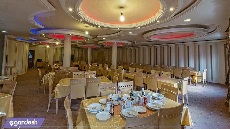 رستوران  هتل سبلان