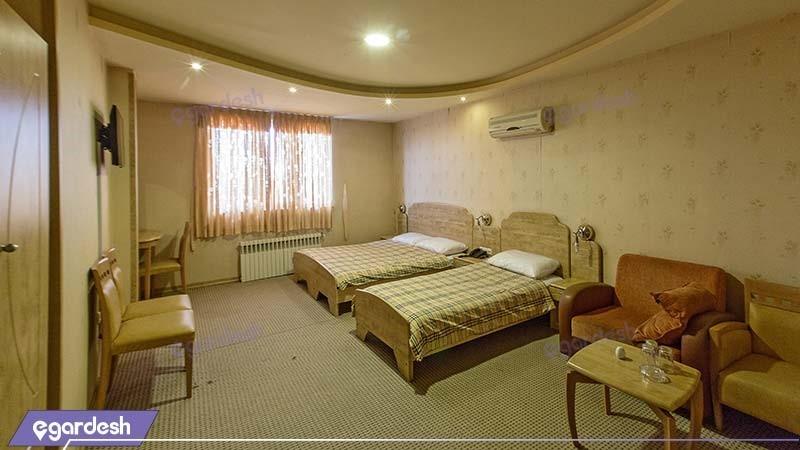 اتاق سه تخته هتل سبلان