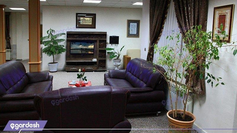 لابی هتل شورابیل