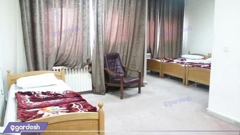 اتاق چهار تخته معمولی هتل شورابیل