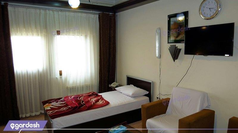 اتاق یک تخته معمولی هتل شورابیل