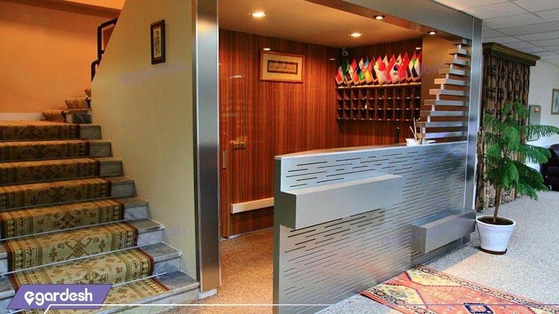 پذیرش هتل شورابیل