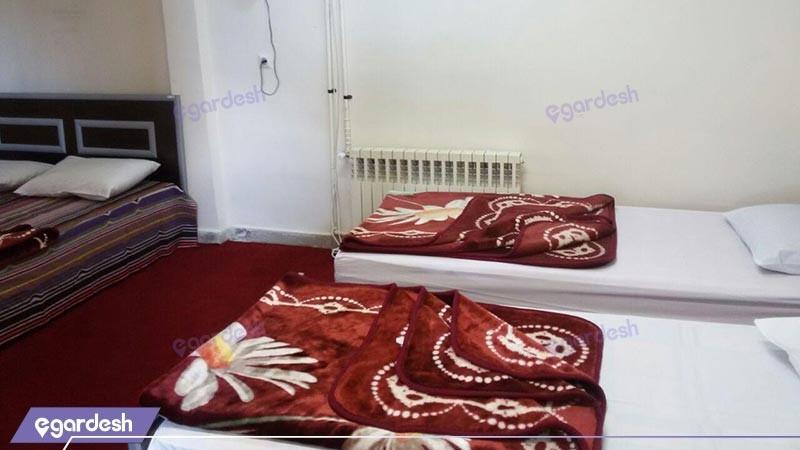 اتاق چهار تخته ویژه هتل شورابیل