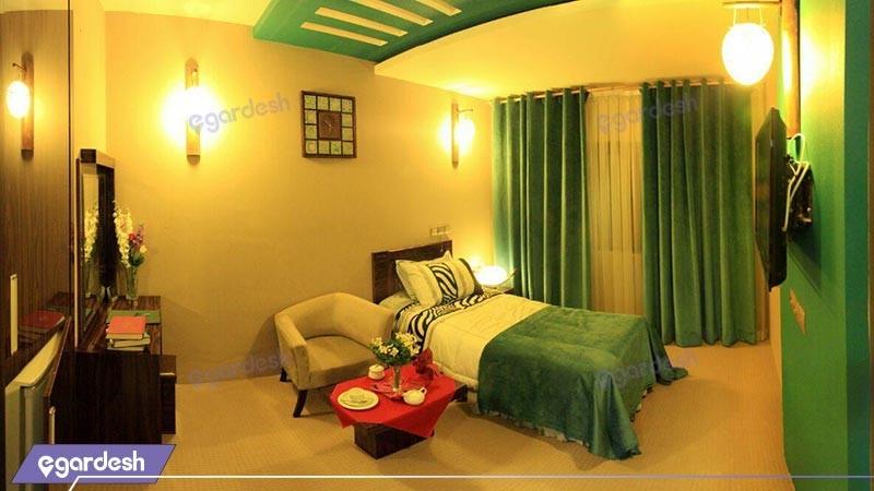 اتاق یک تخته ویژه هتل شورابیل