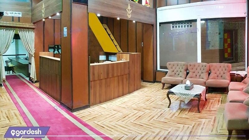 لابی هتل آپارتمان ایساتیس