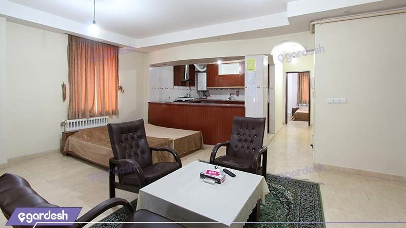 سوئیت پنج نفره هتل آپارتمان ایساتیس