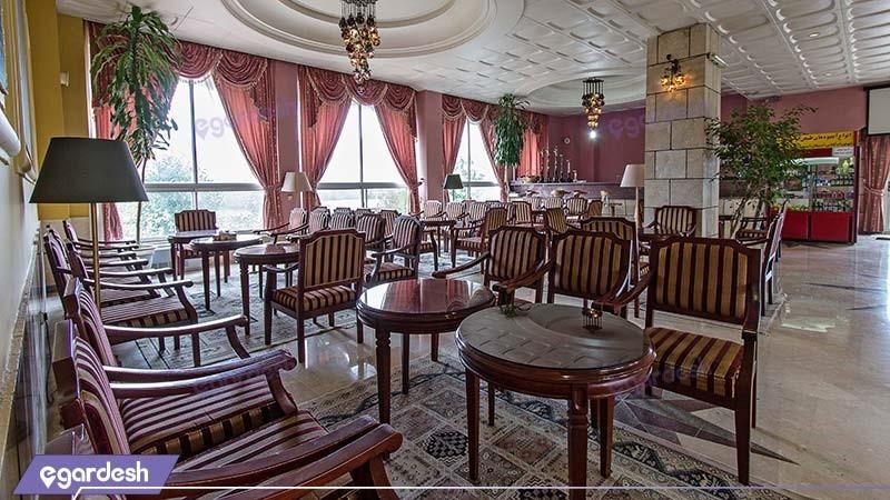 کافی شاپ هتل اسپیناس آستارا