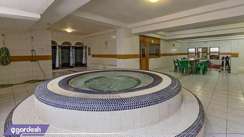 جکوزی هتل اسپیناس آستارا