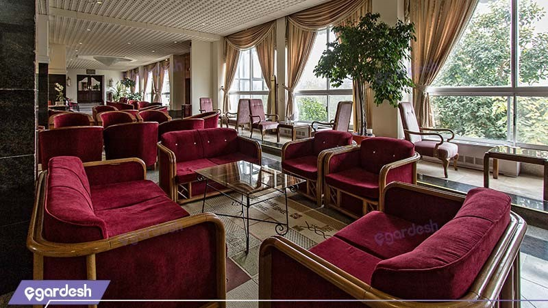 لابی هتل اسپیناس آستارا