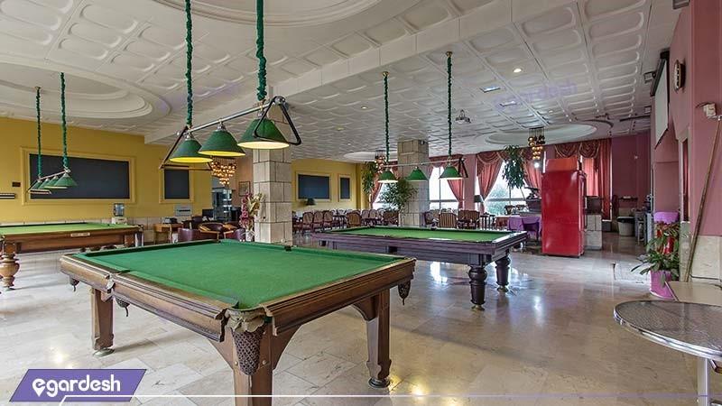 سالن بیلیارد هتل اسپیناس آستارا