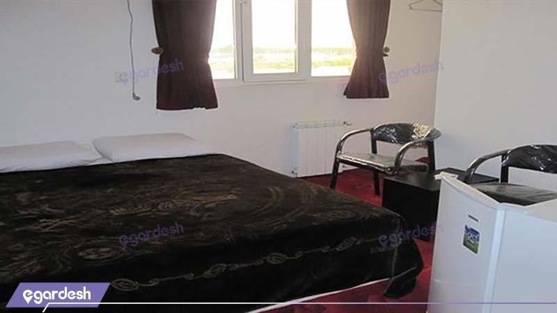 اتاق دبل هتل نگین استیل