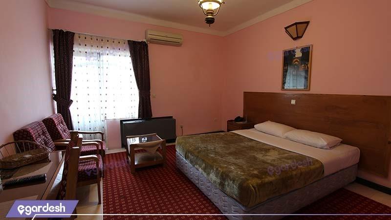 اتاق دبل هتل جهانگردی آستارا