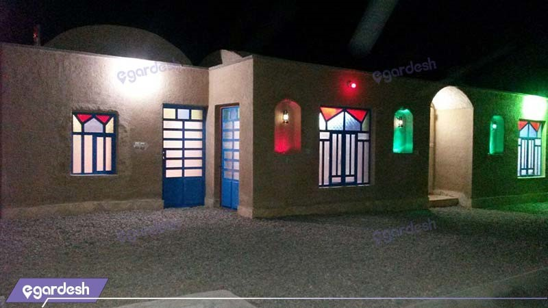 نمای ساختمان اقامتگاه بومگردی ریواس