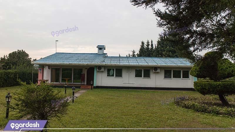 نمای ساختمان مجتمع جهانگردی خزرشهر