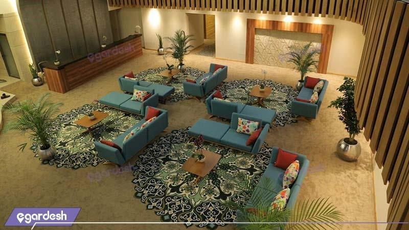 لابی هتل میزبان