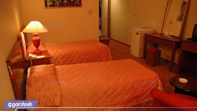 اتاق دو تخته هتل پارسیان آزادی بم