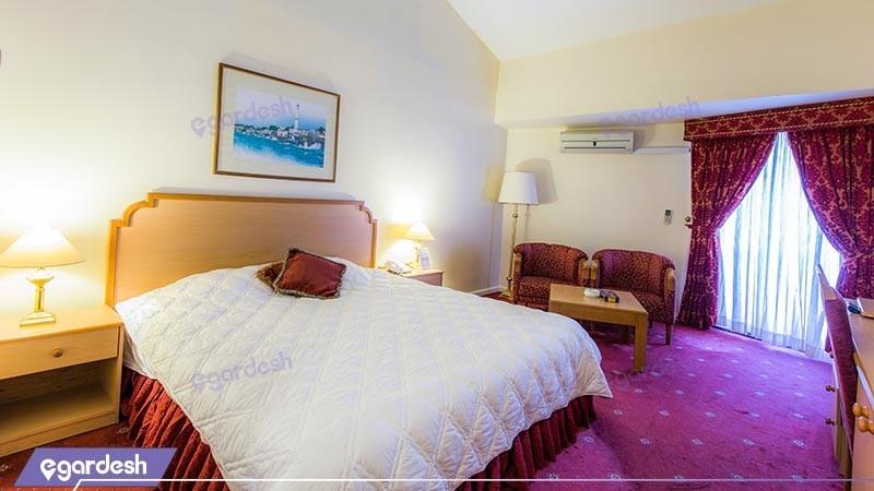 اتاق دو تخته دبل سینیور هتل بین المللی هرمز