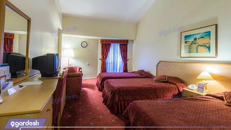 اتاق سه تخته هتل بین المللی هرمز