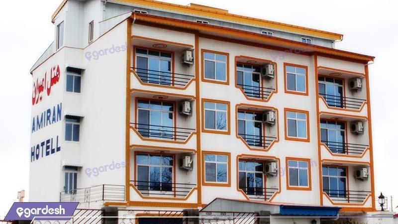 نمای ساختمان هتل امیران بندر انزلی