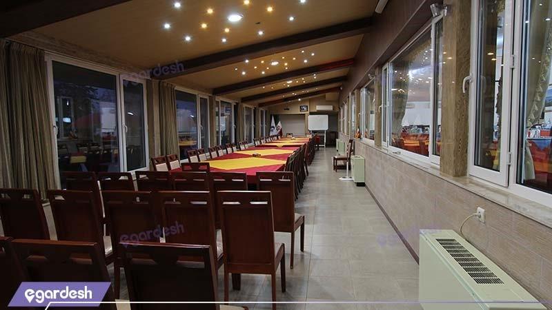 سالن کنفرانس هتل جهانگردی نمونه
