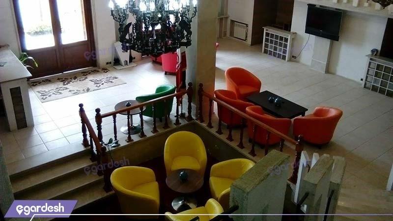لابی هتل آپارتمان ملل