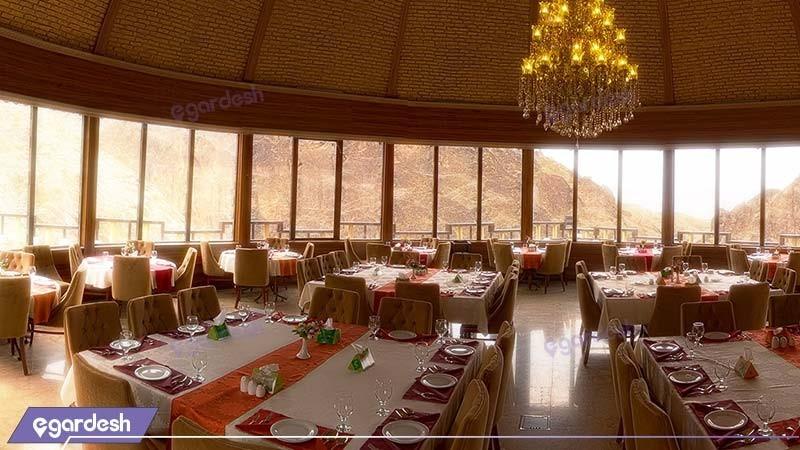 رستوران چشم انداز هتل بزرگ کوهستان