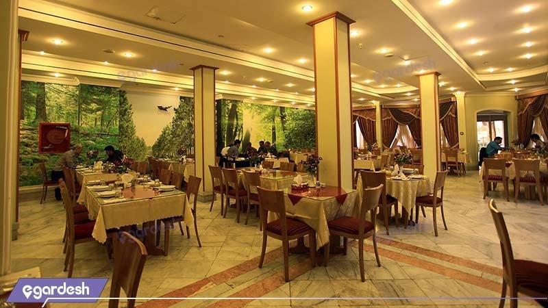 رستوران هتل جهانگردی بیرجند