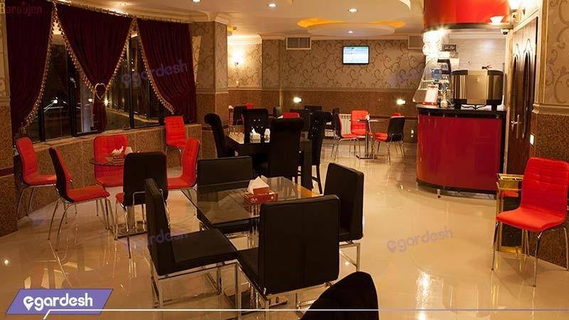 کافه بام هتل بزرگ بام