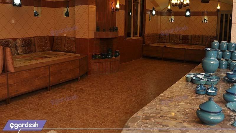 چایخانه سنتی هتل بزرگ بام