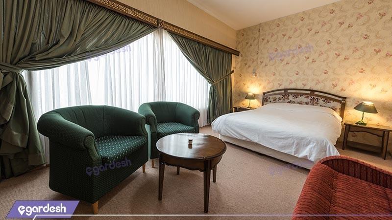 اتاق دو تخته دبل  هتل بین المللی زاگرس