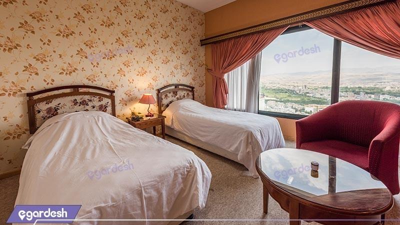 اتاق دو تخته توئین هتل بین المللی زاگرس