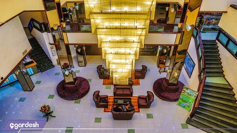 لابی هتل جهانگردی دلوار