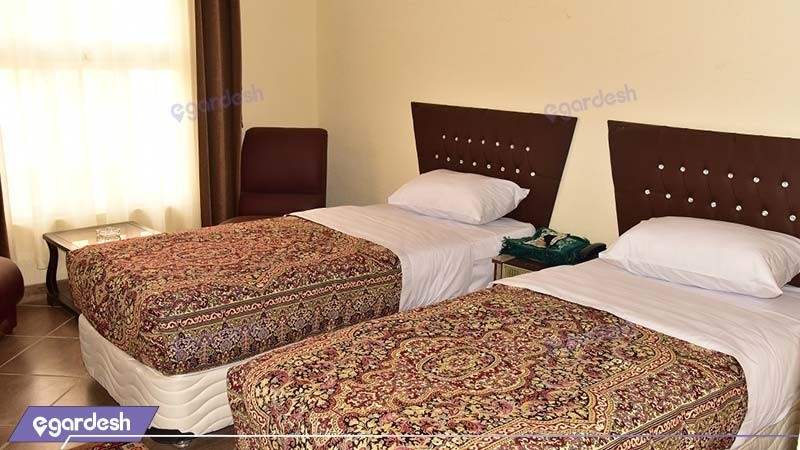 اتاق دو تخته هتل پلاس بوشهر