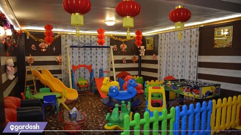 اتاق بازی کودک هتل فردوس چابهار